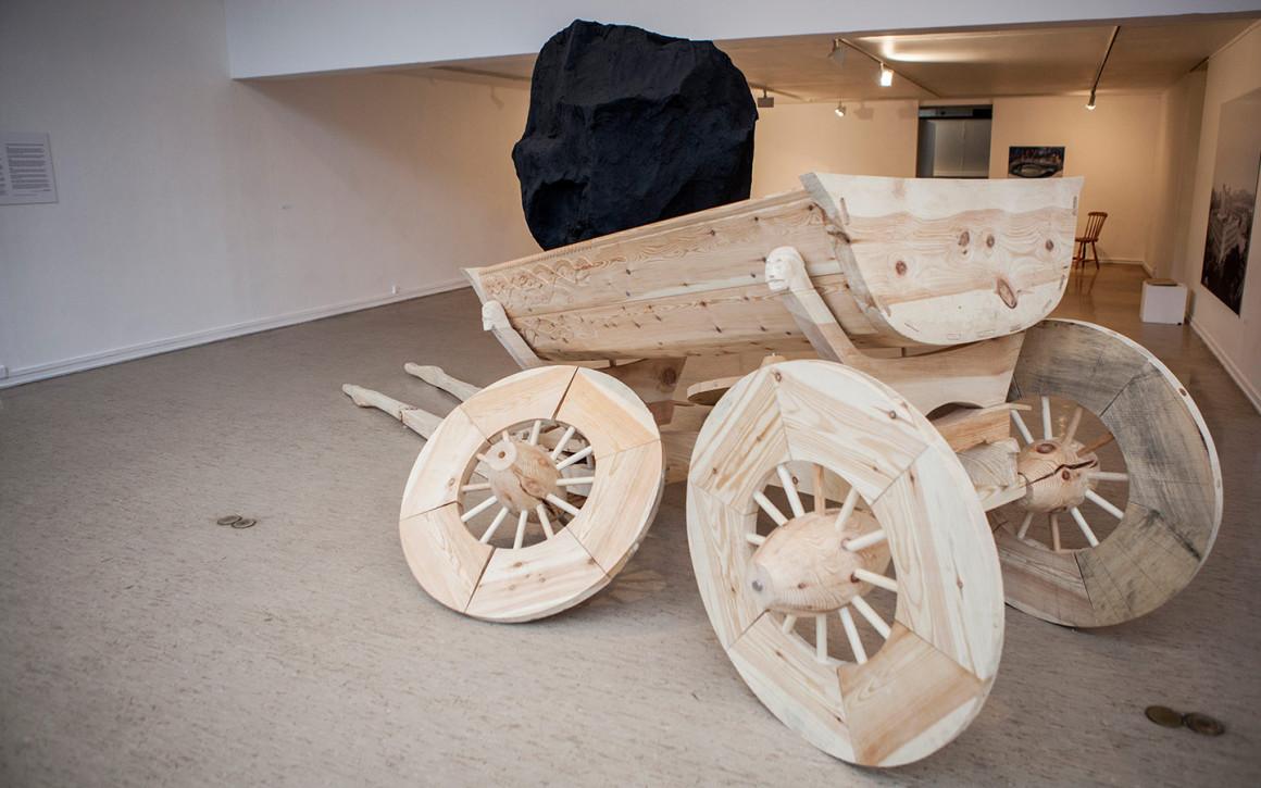 Skulptur av Tore Reisch
