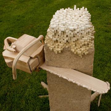 Skulptur til Hydrogenfabrikken Kunsthall 2012